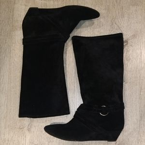 DKNY slouch boots